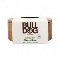 Holicí mýdlo v bambusové misce - 100 g - Bulldog