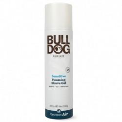 Holicí pěnový gel pro citlivou pokožku - 200 ml - Bulldog