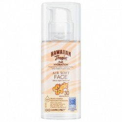 Opalovací krém na obličej Silk - SPF 30 - 50 ml - Hawaiian Tropic