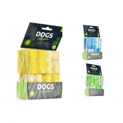 Sáčky na psí exkrementy - 240 ks - mix barev - DOGS