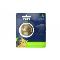 Hračka pro kočky - šanta kočičí - koule - CATS