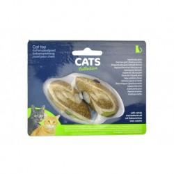 Hračka pro kočky - šanta kočičí - myška - 2 ks - CATS