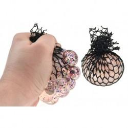 Antistresový mačkací balonek s glitry - Gazelo
