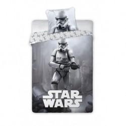 Bavlněné povlečení - Star Wars - grey - 140 x 200 cm - Faro