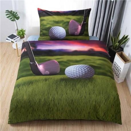 3D povlečení - Golf - 140 x 200 cm