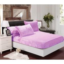 Mikroflanelové prostěradlo Elegance - levandulové - BedStyle