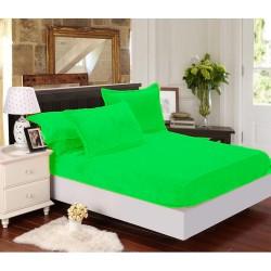 Mikroflanelové prostěradlo Elegance - světle zelené - BedStyle