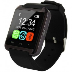 Luxusní chytré hodinky Smartwatch - černé