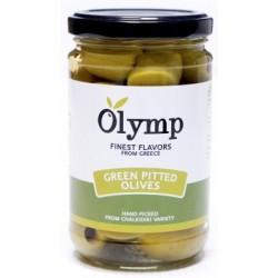 Zelené olivy bez pecky - 314 ml - Olymp