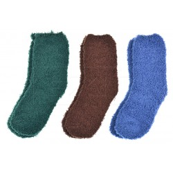 Dětské bambusové chlupaté ponožky QM9202 - 3 páry - Pesail