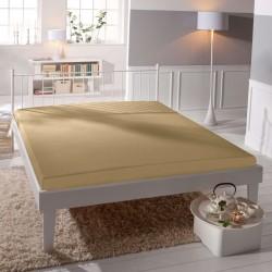 Microtop prostěradlo - béžové - BedStyle