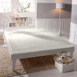 Microtop prostěradlo - bílé - BedStyle