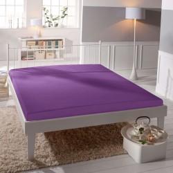 Microtop prostěradlo - fialové - BedStyle