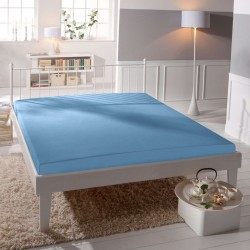 Microtop prostěradlo - světle modré - BedStyle