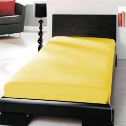 Microtop prostěradlo - žluté - BedStyle