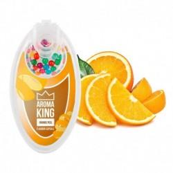 Praskací kuličky Aroma King - Pomerančová kůra - 100 ks