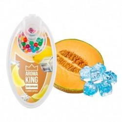 Praskací kuličky Aroma King - Ledový meloun Cantaloupe - 100 ks