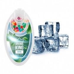Praskací kuličky Aroma King - Mentol - 100 ks