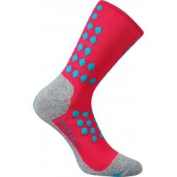 Kompresní ponožky Finish - neon růžové - 1 pár - VoXX