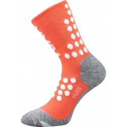 Kompresní ponožky Finish - lososové - 1 pár - VoXX