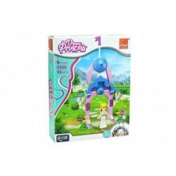 Stavebnice Dream Princess - Brána 2 - 90 dílků  - Peizhi