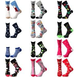 Tucet ponožek - dámské - 12 párů - Lonka + VoXX + Boma