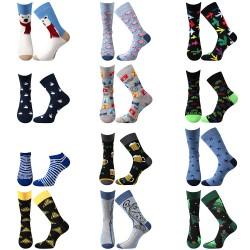 Tucet ponožek - pánské - 12 párů - Lonka + VoXX + Boma