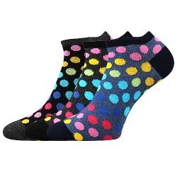 Ponožky Piki 65 - mix A - 3 páry - Boma