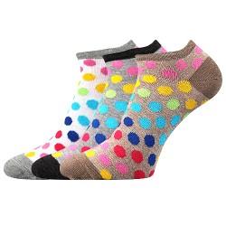 Ponožky Piki 65 - mix B - 3 páry - Boma