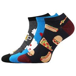 Ponožky Dedon - mix D - 3 páry - Lonka