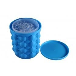 Silikonový výrobník kostek ledu a chladič nápojů - 12 x 13 cm