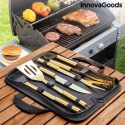 Kufřík s luxusním grilovacím náčiním BBQase - 6 ks nářadí - InnovaGoods