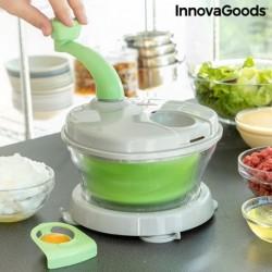 Ruční odstředivka, mlýnek a mixér s příslušenstvím a recepty Chopix - 4 v 1 - InnovaGoods