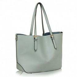 Moderní dámská kabelka LS00265 - světle modrá - LS Fashion