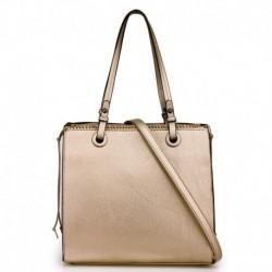 Moderní dámská kabelka AG00558 - zlatá - Anna Grace