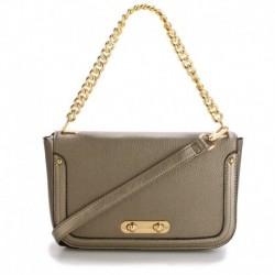 Malá elegantní kabelka přes rameno AG00560 - šedá - Anna Grace