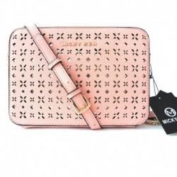 Luxusní kabelka MK13881 - růžová - Micky Ken