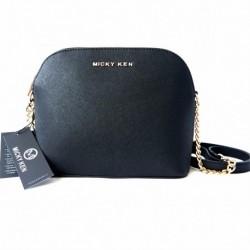 Luxusní kabelka MK225_BLACK - černá - Micky Ken