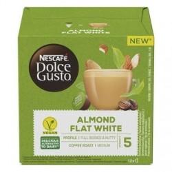 Kapsle Dolce Gusto - Mandlový Flat White - veganské - 12 ks - Nescafé