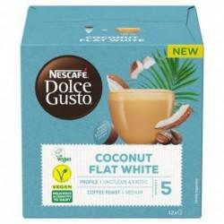 Kapsle Dolce Gusto - Kokosový Flat White - veganské - 12 ks - Nescafé