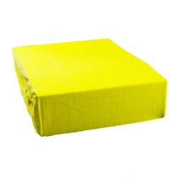 Jersey prostěradlo - žluté - Aaryans