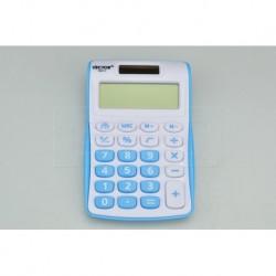 Kalkulačka na solární pohon 886213 - 10,5 x 7 cm - modrá - Vector