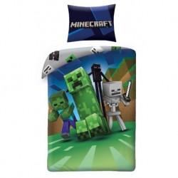 Bavlněné povlečení - Minecraft Monsters - 140 x 200 cm - Halantex