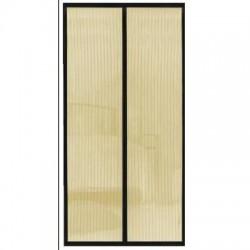 Samozavírací síť na dveře Magic Mesh - 104 x 190 cm - béžová