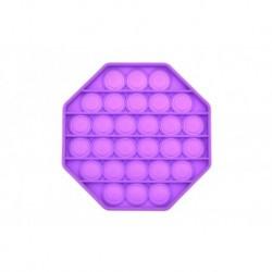 Antistresová hračka Fidget Pop It - Octagon - fialový