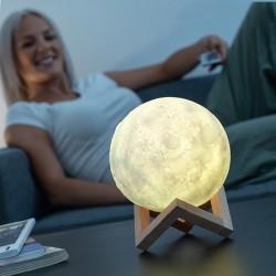 Nabíjecí LED lampa Luna Moondy - InnovaGoods