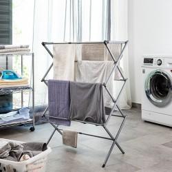 Skládací kovový sušák na prádlo s 3 výškami Cloxy - InnovaGoods