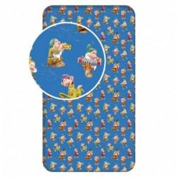 Dětské bavlněné prostěradlo - Sněhurka - 90 x 200 cm - BedStyle