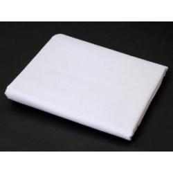Prostěradlo - bavlněná plachta premium - 140 x 240 cm - bílá - BedStyle