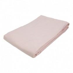Prostěradlo - bavlněná plachta - 145 x 240 cm - růžová - BedStyle